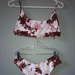 Tie Dye Bikini Swimsuit